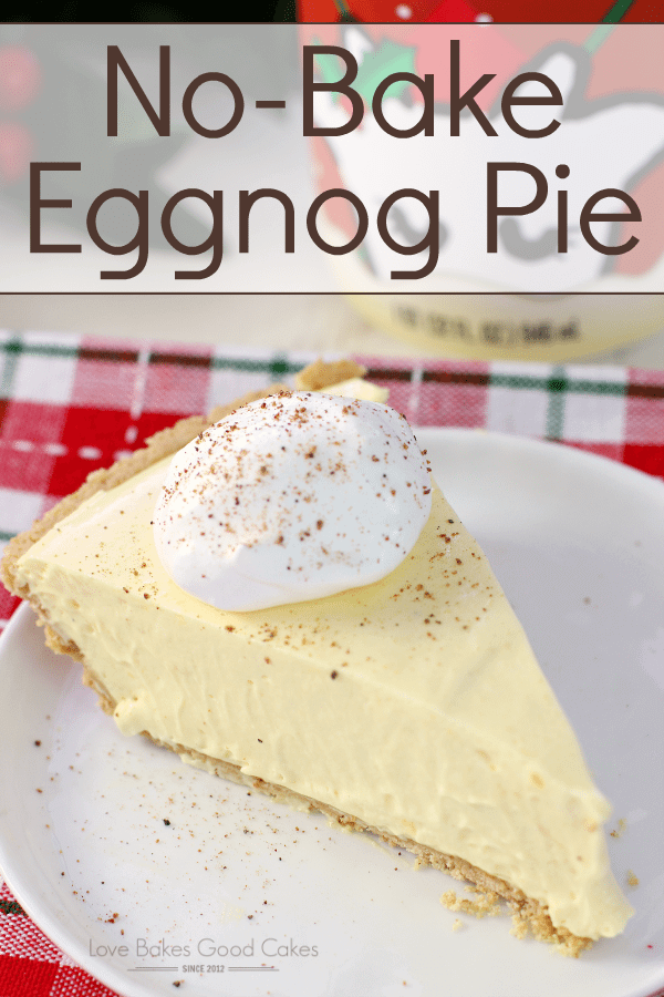 No-Bake Eggnog Pie