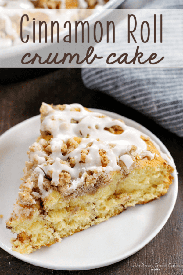 Cinnamon Roll Crumb Cake photo
