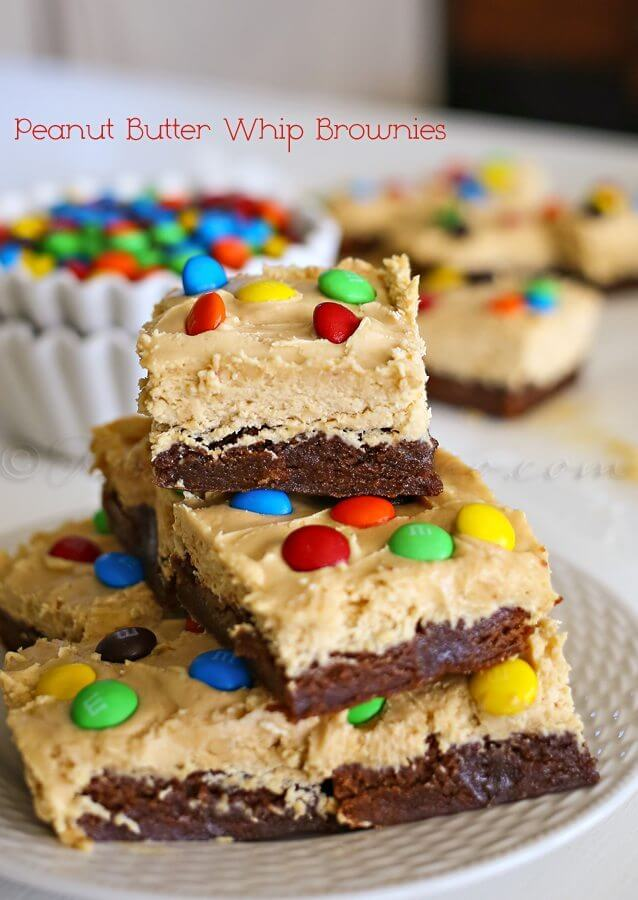 Peanut Butter Whip Brownies picture