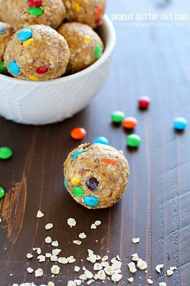 Peanut Butter Oat Balls picture
