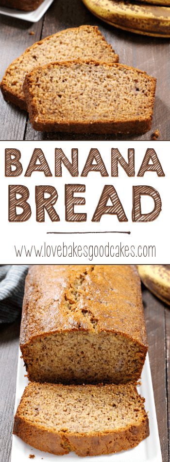 Use those overripe bananas to make this delicious and simple one-bowl Banana Bread! Family approved recipe!