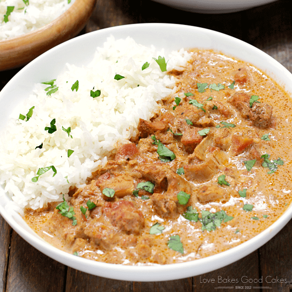 Slow cooker chicken tikka masala love bakes good cakes slow cooker chicken tikka masala chicken slow cooked with the aromatic spices of indian food forumfinder Gallery