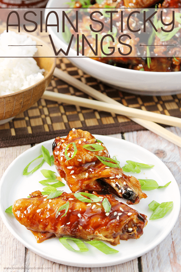 Asian Sticky Wings