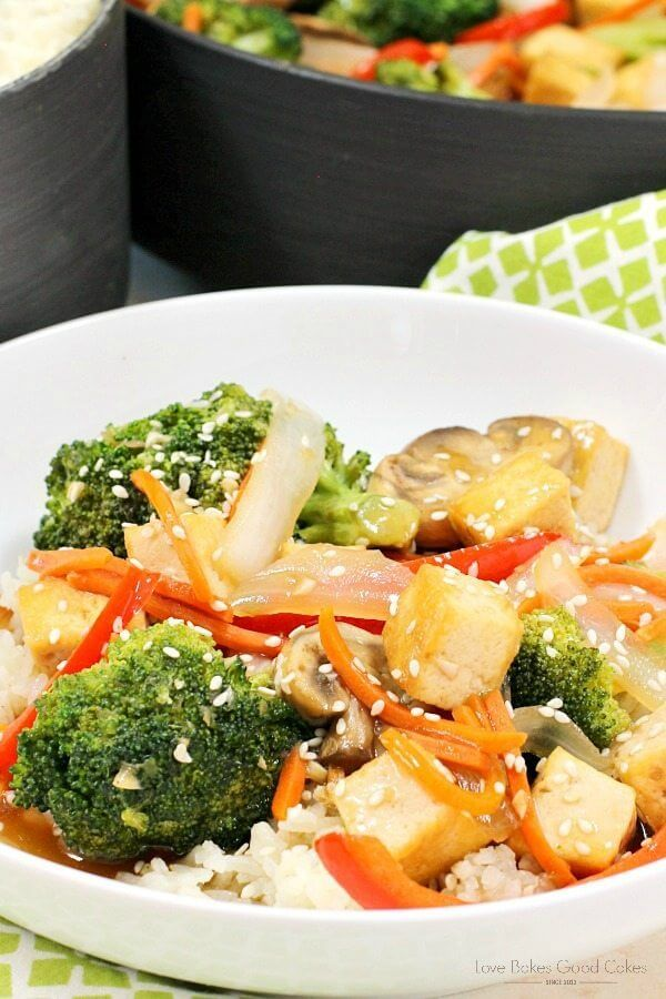 Garlic & Ginger Green Tea Stir Fry