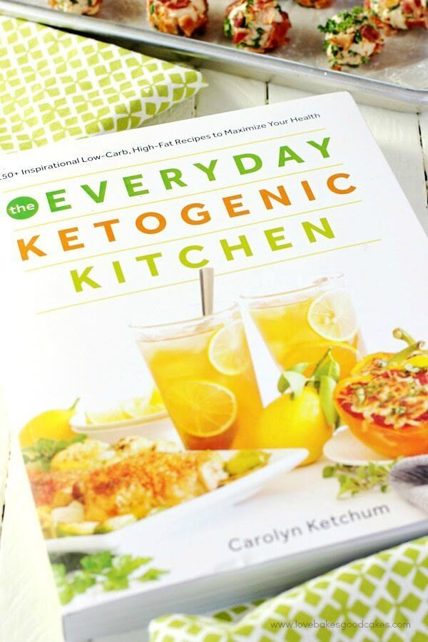 The Everyday Ketogenic Kitchen cookbook cover