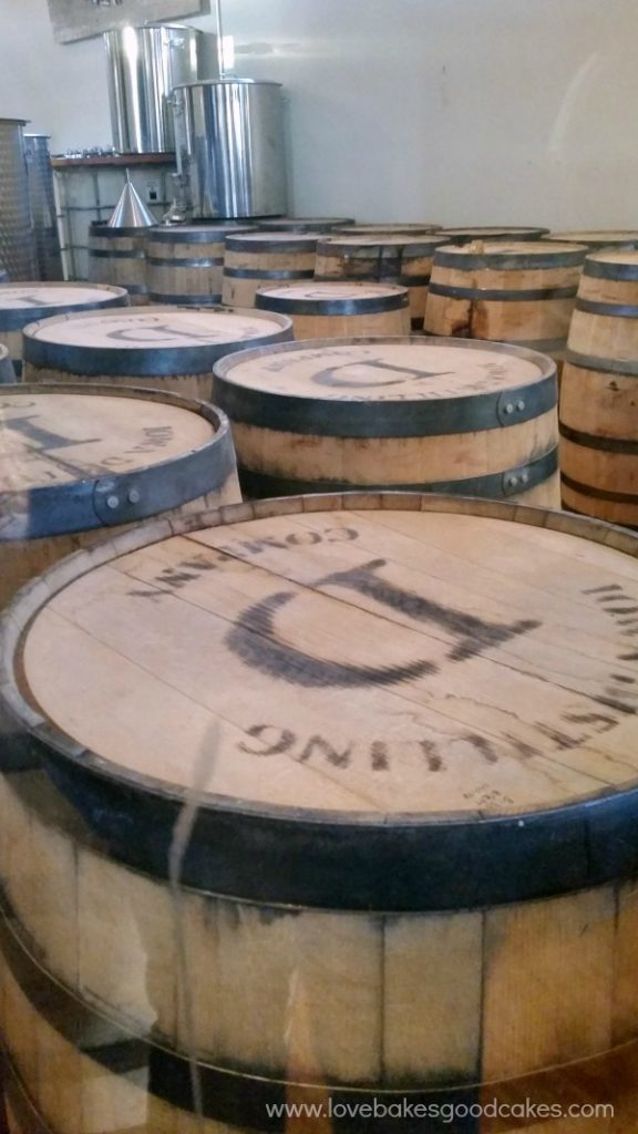 Iowa Distilling Company barrels