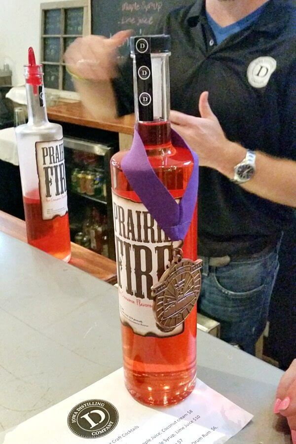 Prairie Fire Cinnamon Whiskey