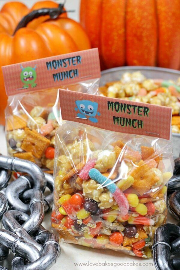 Halloween Monster Munch in bag
