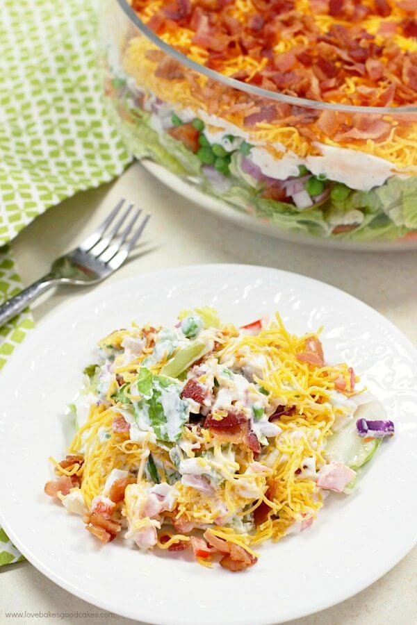 7 Layer Salad