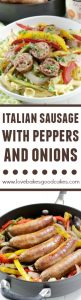 Rustic Italian Sausage with Peppers and Onions