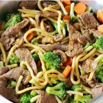 Dinner is delicious AND easy when this Hoisin Beef Noodle Stir Fry recipe is on the menu!Use your favorite veggies for a meal the entire family will love.