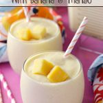 Start your day off with this delicious Sunshine Smoothie with Banana and Mango.This quick and easy recipe will brighten your morning.
