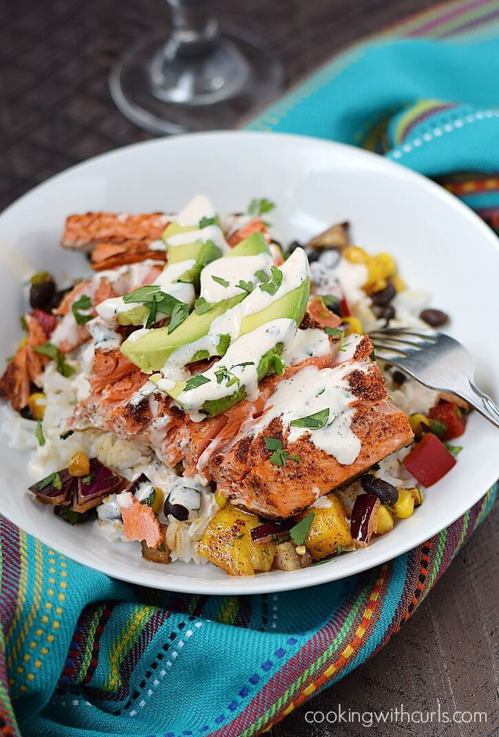 Southwest Salmon Bowl