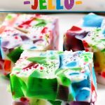 """You'll hear plenty of """"oohs"""" and """"aahs"""" when you serve this Broken Glass Jello. It's a fun and colorful treat for kids ... and kids at heart!"""