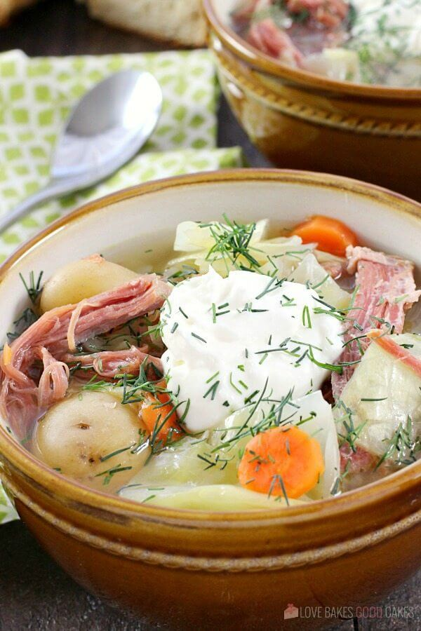 Corned Beef, cabbage, carrots, and potatoes mix for a new spin on the traditional St. Patricks' Day meal!