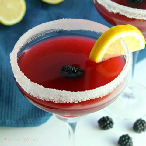 Shake things up with this delicious Blackberry Lemonade Margarita recipe. It's the perfect drink for Cinco de Mayo celebrations and it'll be an adult favorite all summer long!