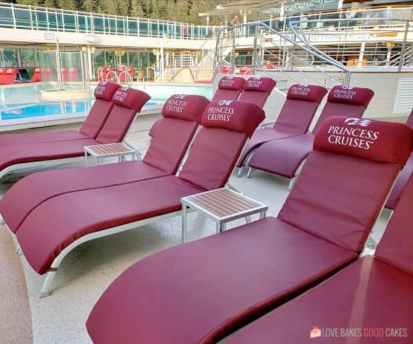 Princess Cruises Lounge Chairs