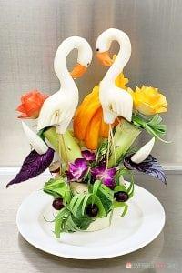 food swans