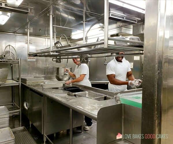 smiling dishwashers