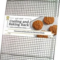 Stainless Steel Wire Cooling Rack - Heavy Duty Commercial Quality