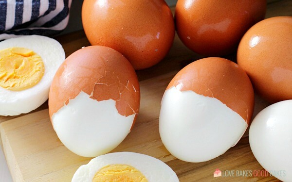 easy to peel perfect hard-boiled eggs