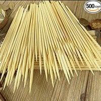 Natural Bamboo Kabob Skewers