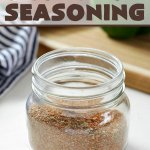 Homemade Cajun-Creole Seasoning with words