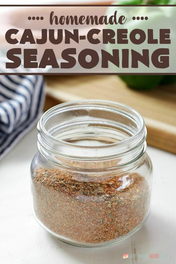 Homemade Cajun-Creole Seasoning with words