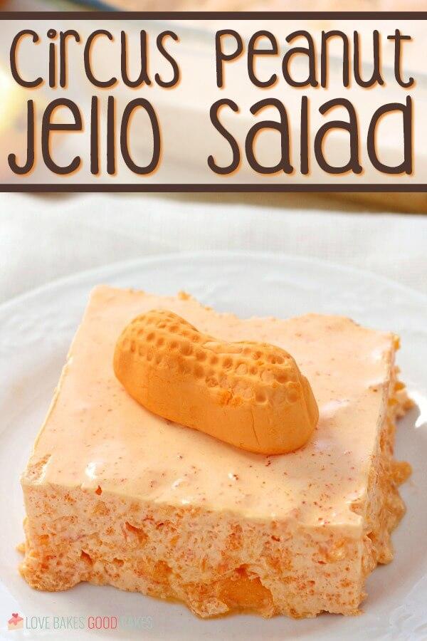hero - Circus Peanut Jello Salad with title on pic