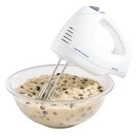 Hand Mixer with Snap-On Case