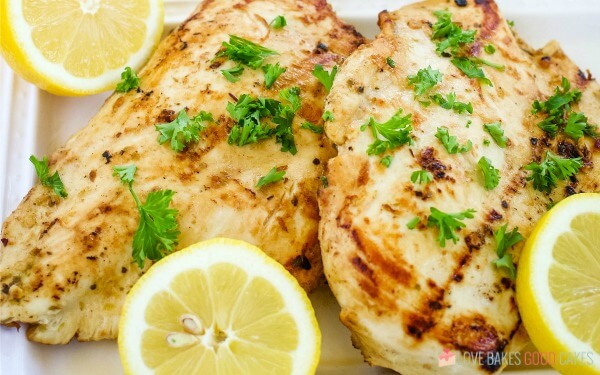 perfect grilled marinated chicken
