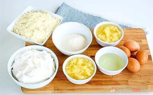 Ingredients for Pineapple Sunshine Cake