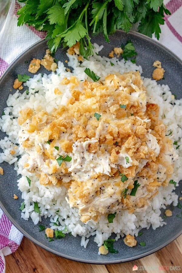 Retro recipe - Poppy Seed Chicken Casserole