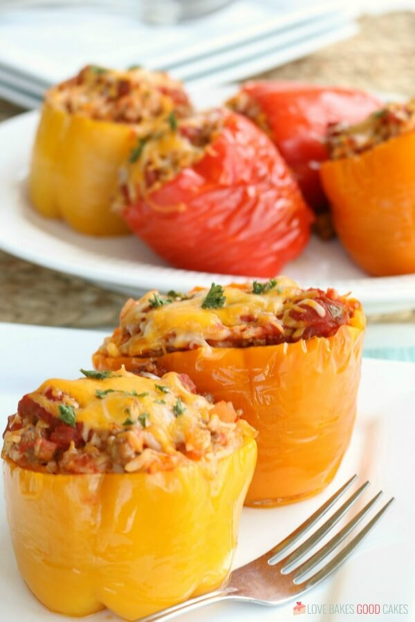 Mexican Stuffed Peppers Recipe is so easy to make and packed with nutrients.