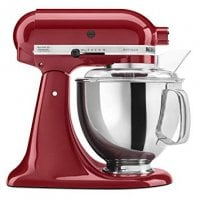 KitchenAid Tilt-Head Stand Mixer with Pouring Shield, 5-Quart, Empire Red