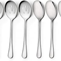 Stainless Steel Serving Spoons, Dishwasher Safe