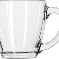 Tapered Mug, Box of 6, Clear
