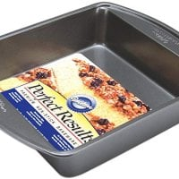 Premium Non-Stick Bakeware Square Cake Pan, 8x8-inches