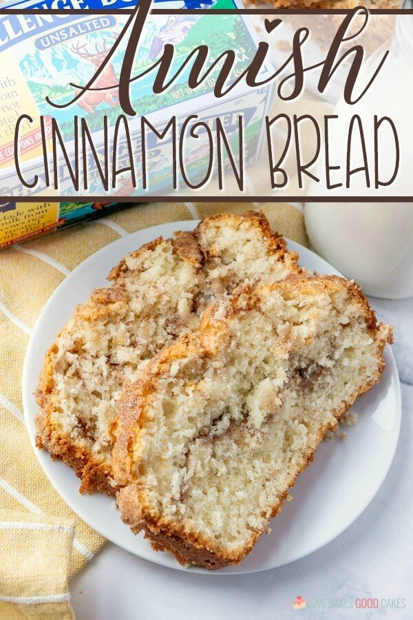 Amish Cinnamon Bread is a no-knead sweet bread made with a few common ingredients! Great as a quick breakfast or dessert.