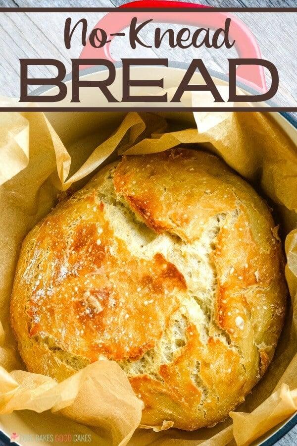 no-Knead Bread in Dutch oven