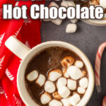 nutella hot chocolate pin
