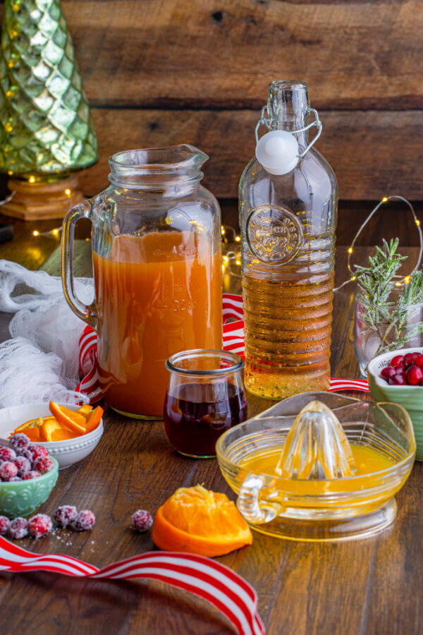 ingredients to make drink
