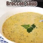 pin image for cream of broccoli soup