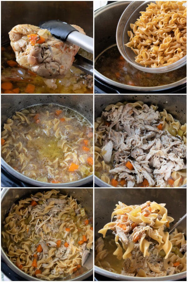 steps to make chicken noodle soup