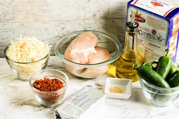 ingredients to make pasta