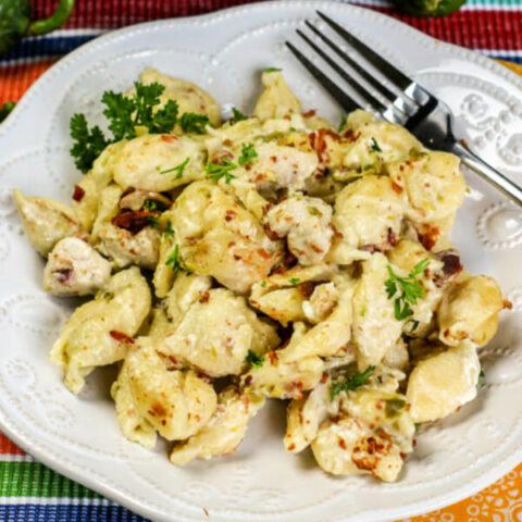 Instant Pot Chicken Jalapeno Popper Pasta