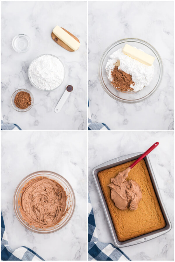 how to make the frosting