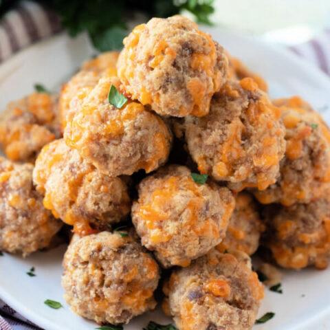 Low Carb Sausage Balls