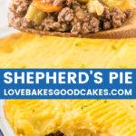 shepherds pie collage