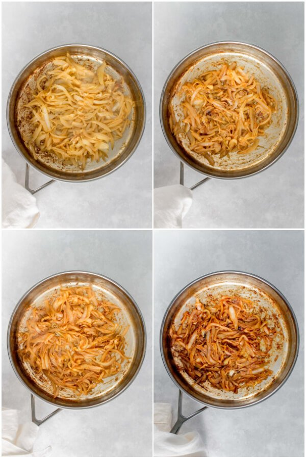 collage of cooking step 5-8